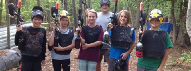 Paintball Fun for the Whole Family