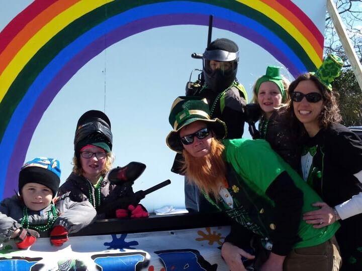 2017 OC Paintball Ocean City St. Patrick's Day Parade