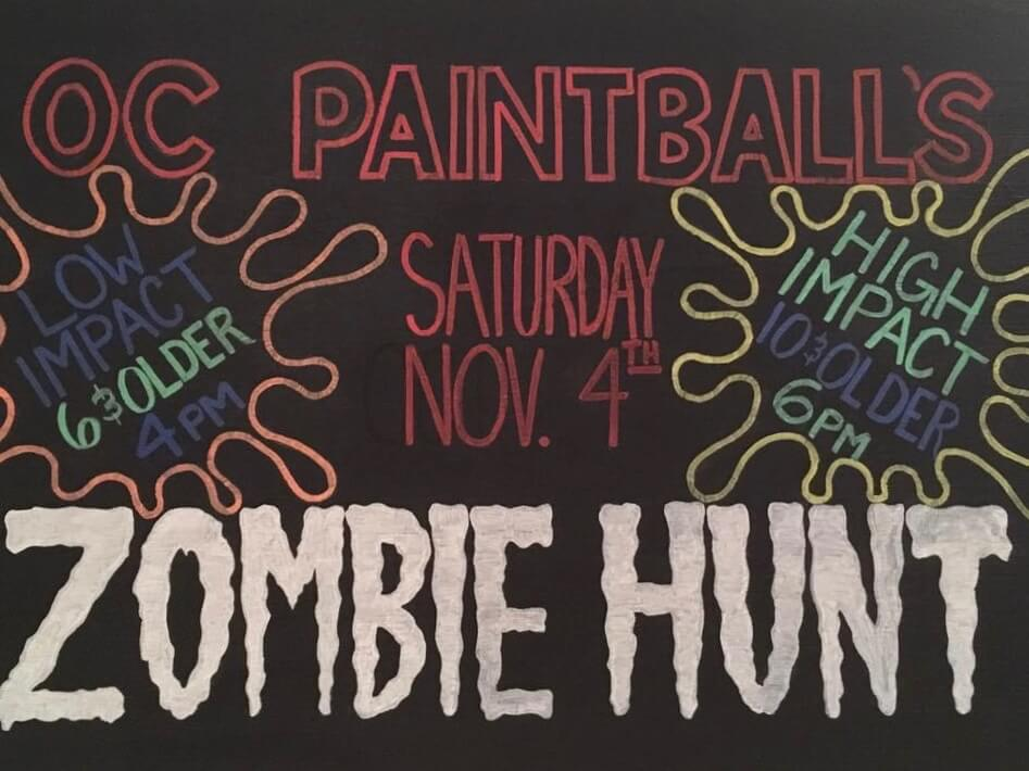 OC Paintball's 2017 Zombie Hunt